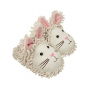 Aroma Home Fuzzzy Friends White Rabbit Slippers