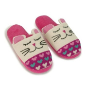 Aroma Home Knitted Animal Slippers Cat