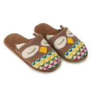 Aroma Home Knitted Animal Slippers Owl