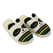 Aroma Home Knitted Animal Slippers Panda