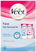 Veet 50ml Face Hair Removal and Finishing Cream - Pack of 2