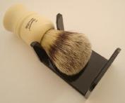 Shaving brush dripstand, black