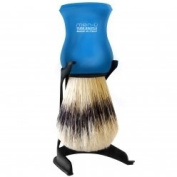 Men-U Barbiere Shave Brush & Stand - Blue