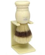 Shaving Brush HJM with pure bristle - ivory