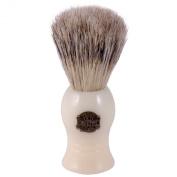 Progress Vulfix No 10 Bristle and Badger Shaving Brush - Ivory
