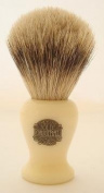 Progress Vulfix 660S Small Super Badger shaving brush, Ivory colour