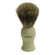 Pure Badger Shaving Brush Faux Ivory Handle