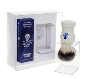 The Bluebeards Revenge Vanguard Synthetic Shaving Brush and Drip Stand
