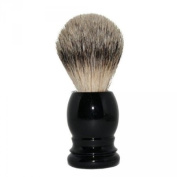 Shaving Brush Badger Hair Silvertip - Black Handle