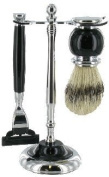 Artemis MACH 3 Shaving Gift Set - Black Razor & Shaving Brush - SHV117