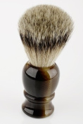 23 mm Horn Resin Silvertip Badger Brush