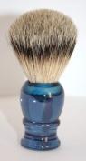 RAZZOOR Shaving Brush Blue Badger Silvertip