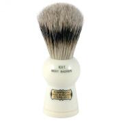 Simpson Keyhole KH1 Best Badger Hair Shaving Brush Small - Ivory
