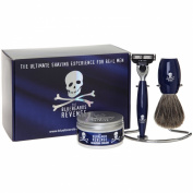 The Bluebeards Revenge Privateer Collection Gift Set [Brush, Mach 3 razor and chrome stand and comes gift boxed with a tub of The Bluebeards Revenge shaving cream worth £9.99 (Currently reads £14.99)]