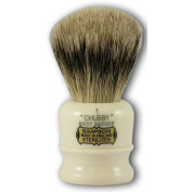 Simpsons Chubby 1 Best Badger Hair Shaving Brush in Imitation Ivory
