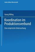 Koordination Im Produktionsverbund