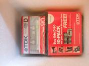 TDK D-90 Cassette 10-Pack, ¹
