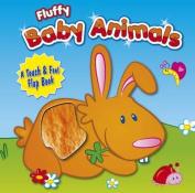 Fluffy Baby Animals [Board book]