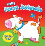 Fluffy Farm Animals [Board book]
