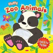 Fluffy Zoo Animals [Board book]