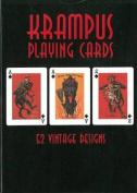 Krampus Playing Cards
