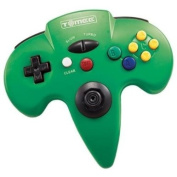 New N64 Tomee Controller Green 10 Function Button