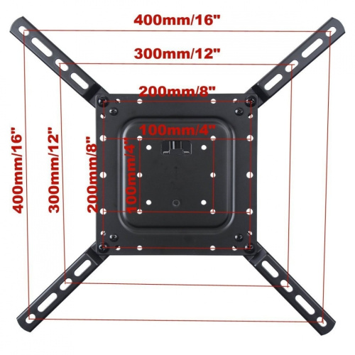 videosecu low profile articulating swing arm tv wall mount. Black Bedroom Furniture Sets. Home Design Ideas