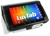 Google Nexus 7 2 (2013) Multi-Angle 'Pen' Case with Auto Sleep Wake Sensor and 5.1cm 1 Stylus / Biro Pen by LuvTab