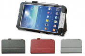 Samsung Galaxy Tab 3 8.0 P8200 / P8210 (20cm ) Multi-Angle 'Pen' Case with Auto Sleep Wake Sensor and 5.1cm 1 Stylus / Biro Pen by LuvTab