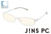 JINS PC Glasses Computer Eyewear White