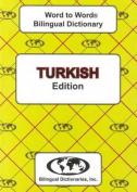 English-Turkish & Turkish-English Word-to-Word Dictionary