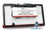 LP-136B Black - XO Vision Licence Plate with Built-in Night Vision Camera