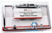 LP-136S SILVER - XO Vision Licence Plate with Built-in Night Vision Camera