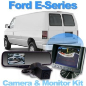 Complete Rear Camera System with 13cm Dash Monitor for Ford E-Series
