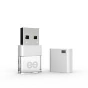 Leef Ice 32GB High-speed USB Flash Drive with Soft-glow LED and PrimeGrade Memory