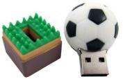 Soccer Ball USB Flash Drive - Data Storage Device - 4GB