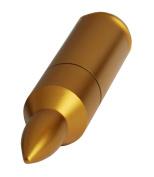 AMP 4GB Gold Bullet Shaped USB Flash Drive
