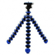 Case Star Blue,Black Octopus Style Portable and adjustable Tripod Stand for Camera + Case Star Cellphone Bag