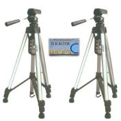 Tru Digital 140cm Camera Tripod with Carrying Case 2 PACK