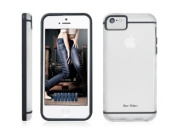 Bear Motion (TM) Premium Slim iPhone 5C Frosty Back Cover Case for Apple iPhone 5C