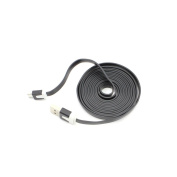 HuaYang 2M/6FT Noodle Flat Micro USB Charger Cable For Galaxy S4 i9500 LG Optimus G Pro