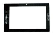 T-Mobile (Tmobile) Sharp SIDEKICK 2007 LX Original (OEM) Replacement Lens LCD Screen Glass Frame Part for Repair