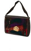 Lady With Hat And Feather By Gustav Klimt Laptop Bag - Shoulder Bag - Messenger Bag