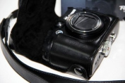 """MegaGear """"Ever Ready"""" Protective Leather Camera Case, Bag for Canon PowerShot G15, Canon PowerShot G16"""