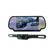 Absolute CAMPACK-700 18cm TFT/LCD Rear View Mirror Monitor with Rear View Night Vision Camera