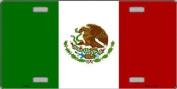Mexico Flag Licence Plate Mexico Flag Licence Plate