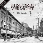 Historic Vermont Calendar