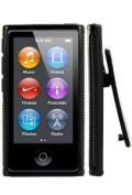 Importer520 Belt Clip TPU Rubber Skin Case Cover for Apple iPod Nano 7th Generation 7G 7