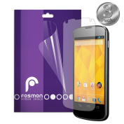 Fosmon Anti-Glare (Matte) Screen Protector Shield for Google Nexus 4 / LG Nexus 4 - 3 Pack