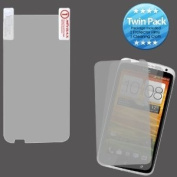 MYBAT HTCONEXLCDSCPRTW LCD Screen Protector for HTC One X - Retail Packaging - Twin Pack